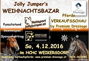 Jolly Jumper Weihnachtsbazar 2016